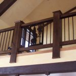 Alpine Iron Railings for Stairs