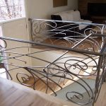 Art Nouveau Iron Railings for Stairs