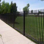 Benchmark Iron Fence