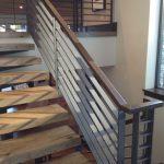 Burnish Iron Railings for Stairs