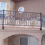 Castillio Iron Railings for Stairs