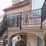 Castillio Full Sair Iron Railings for Stairs