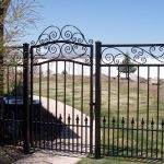 Castlebook Iron Gate and Fence
