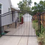 Classic Arched Iron Gate