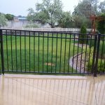 Classic Iron Gate with Wheel
