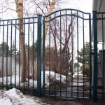 Classic Iron Gate and Fence