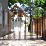 Contemporary Iron Gate