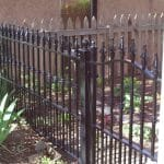 Contemporary Iron Fence