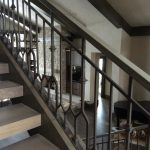 Daybreak Pitched Iron Railings for Stairs