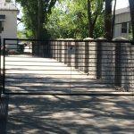 Draper Driveway Iron Gate