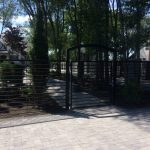 Draper Iron Fence and Gate