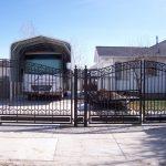 Estate Double Iron Gate