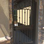 Flourish Walkway Iron Gate