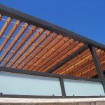 Fresh Air Wood Steel Pergola