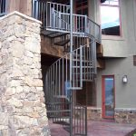 Gentle Grace Iron Spiral Stairs