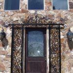 Guinevere Iron Door Accent