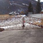 Hearts-a-Fluter Iron Gate