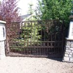 Homes Iron Fence