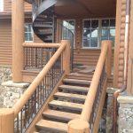 Kodiak Iron Railings for Stairs