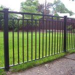 Kristen Iron Fence