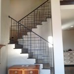Labyrinth Iron Railings for Stairs