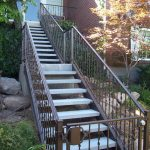 Lacey Iron Gates and Railings for Stairs