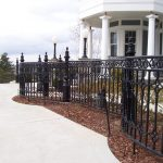 Monticello Iron Railings for Stairs