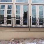 Palazzo Window Iron Grill