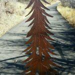 Pine Tree Iron Gate