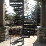 Ramano Iron Spiral Stairs