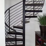 Ronde Iron Spiral Stairs