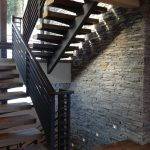 Rustic Iron Stairs