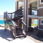 Seaside Cove Iron Stairs and Railings