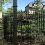 Simplicity Iron Fence with Post