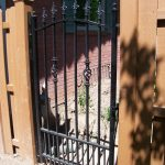 Trinity Iron Gate with Dog Bars