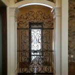 Tuscan Interior Iron Gates