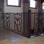 Tuscany Iron Railings for Stairs