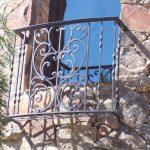 Tuscany Iron Windows Accent