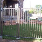 Wisteria Iron Fence and Gate