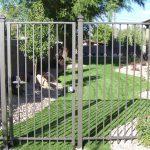 Wisteria Iron Fence